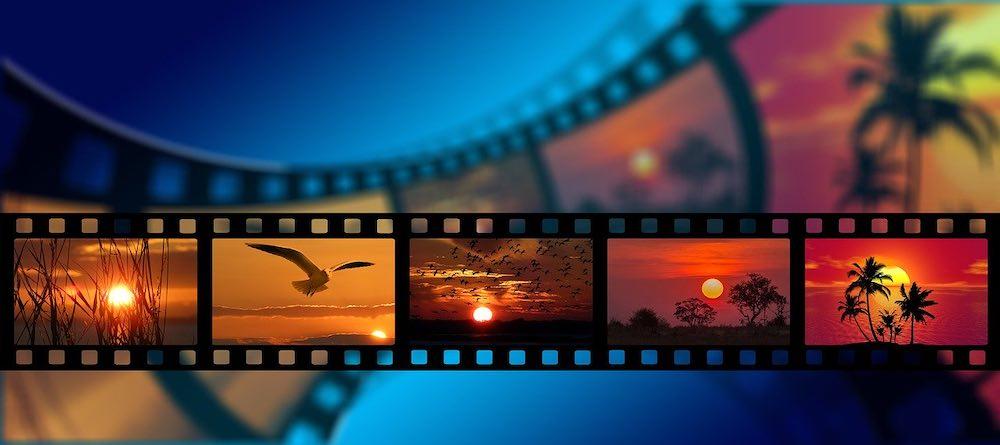Film en couleurs pour le festival du film