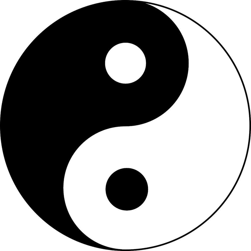 emblème du yin et du yang chinois